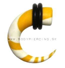 piercing do ucha  :: HOLE EXPANDER  :: roztahovak fimo YW30