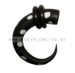 piercing do ucha  :: HOLE EXPANDER  ::  roztahovak fimo 025