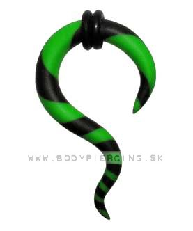 piercing do ucha  :: HOLE EXPANDER  :: roztahovak fimo H004