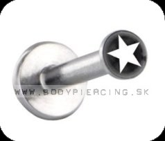 piercing do brady - pery :: LABRET :: logo inlay ::