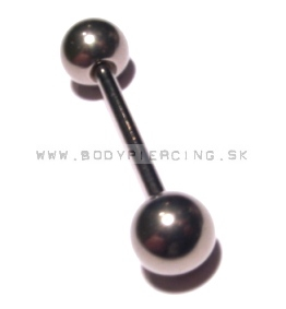 piercing do jazyka:: STRAIGHT BARBELL:: titan gradeG23