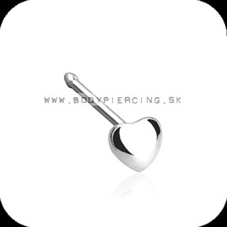 piercing do nosa :: NOSTRIL STUD:: puffy heart