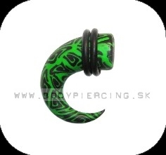 piercing do ucha  :: HOLE EXPANDER :: roztahovak fimo R003