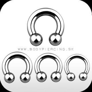 piercing do ucha  :: CIRCULAR BARBELL  :: podkova HARDWARE