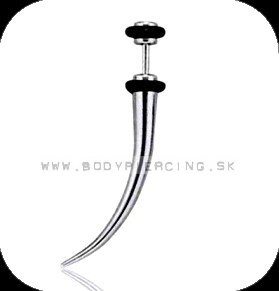 piercing do ucha:: FAKE STEEL TUSK :: small expander