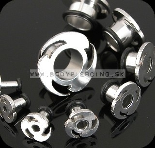 piercing do ucha:: SWIRLING TUNNEL :: blade with O-Ring