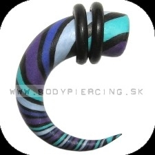 piercing do ucha  :: HOLE EXPANDER  :: roztahovak fimo R040