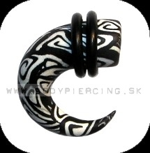 piercing do ucha  :: HOLE EXPANDER  :: roztahovak fimo H38
