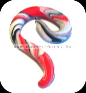 piercing do ucha  :: HOLE EXPANDER  :: roztahovak fimo tekk0126