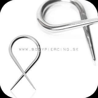 piercing do ucha :: HOLE EXPANDER :: steel taper ribbon